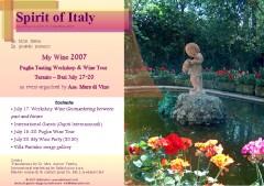 Spirit Of Italy MyWine 2007